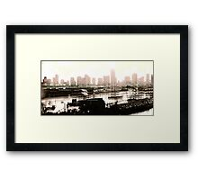 Miami 3 Framed Print