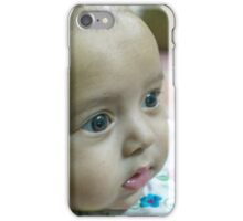 2 months old baby girl iPhone Case/Skin