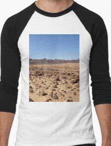 an awesome Mauritania landscape Men's Baseball ¾ T-Shirt