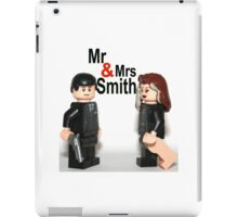 Lego Mr & Mrs Smith iPad Case/Skin