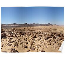 an awesome Mauritania landscape Poster