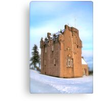 Crathes Castle Canvas Print
