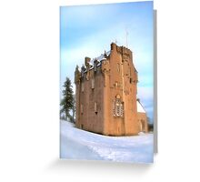 Crathes Castle Greeting Card