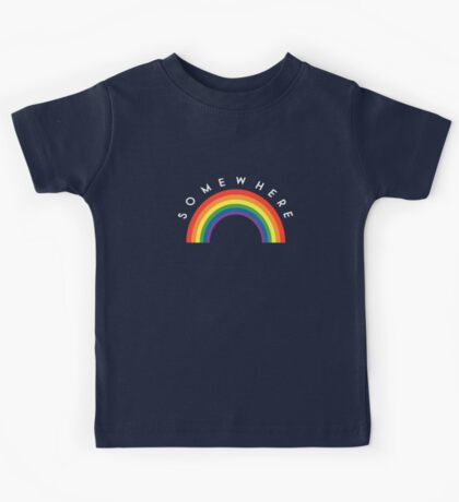 Over The Rainbow Kids Tee