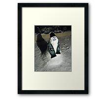 90 - BLYTH SPARTANS SNOWMAN (D.E. 6th January 2010) Framed Print