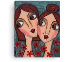 A Sisters Bond Canvas Print