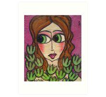 Brandie Art Print