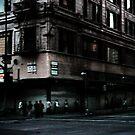 L.A. street corner by Michael Douglass