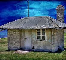 The Old Laundry (c.1896), Cape Leeuwin, Augusta, Western Australia by Elaine Teague