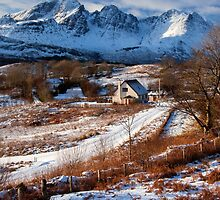 Torrin and Blaven in mid Winter. Isle of Skye,Scotland. by photosecosse /barbara jones