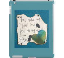 Heart Beat / Slow Song #2  iPad Case/Skin