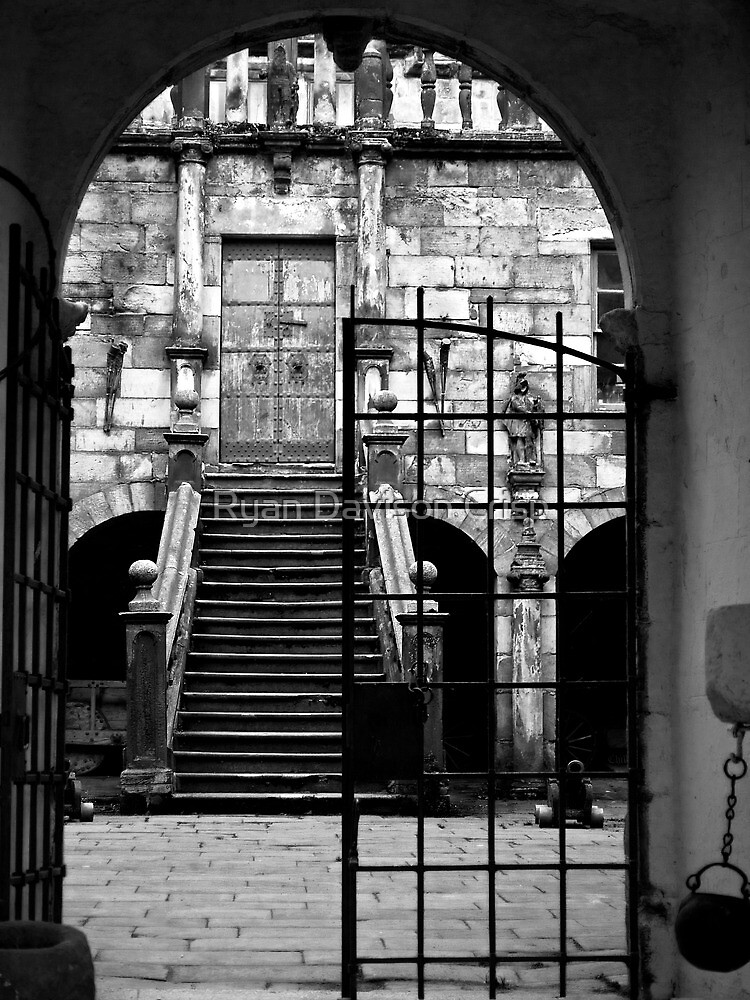 Castle Gates by Ryan Davison Crisp