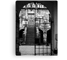 Castle Gates Canvas Print