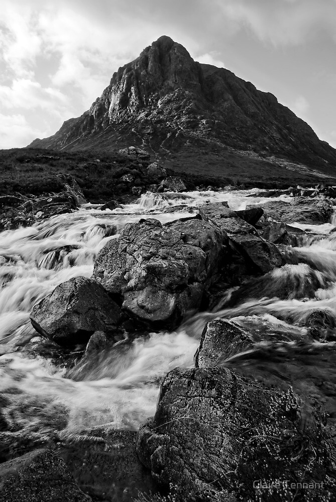 Buachaille Etive by Claire Tennant