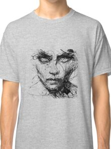 Face Abstract Cool Classic T-Shirt