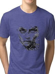 Face Abstract Cool Tri-blend T-Shirt