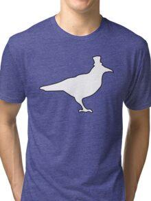 White Raven Tri-blend T-Shirt