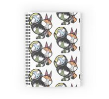 Monsterpuff Ghouls Spiral Notebook