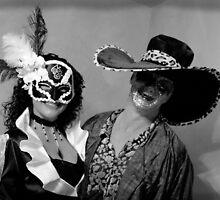 Lisa and I at Masked Ball by Snapshot20