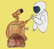 Robot Love Kids Clothes