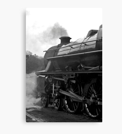 Getting Steam Up Canvas Print