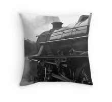Getting Steam Up Throw Pillow