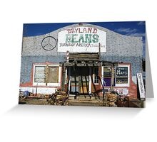 Trading Post ??? Greeting Card