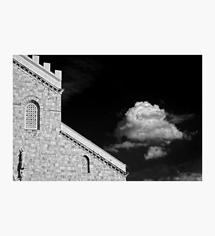 Cathedral & Cloud Photographic Print