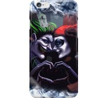 Harley Quinn & Joker mad love  iPhone Case/Skin