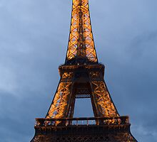 Eiffel Tower - 1st of a series by William Gordon