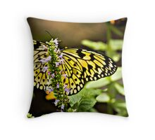 Easter Tiger Swallowtail  Throw Pillow