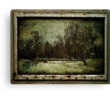 Once upon a Time there was a beautiful Garden Canvas Print