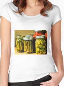 Pickled Pink Women's Fitted Scoop T-Shirt