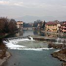 Serio River by annalisa bianchetti