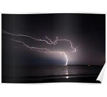 Caught a bolt of lightning Poster