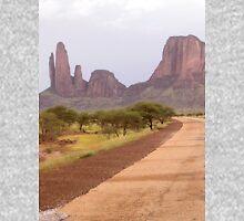 a desolate Mali landscape Unisex T-Shirt