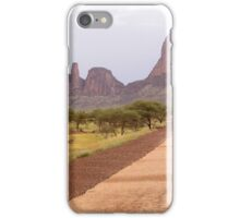 a desolate Mali landscape iPhone Case/Skin