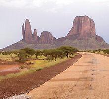 a desolate Mali landscape by beautifulscenes