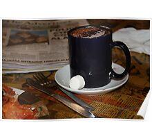 Chocolate breakfast Poster