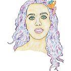 Katy Perry Portrait by Daniel Bevis