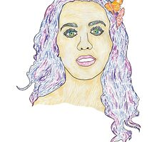 Katy Perry Portrait by Daniel Bevis