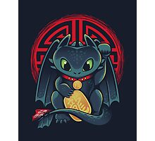 Maneki Dragon Photographic Print