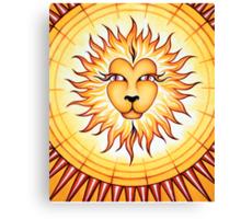 Leo - Shine your light into the world! Canvas Print