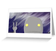 ROBO: Storm Greeting Card