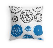 Gears vector element illustration Throw Pillow