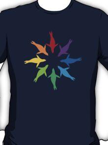 Color: Sea Lion Rainbow Pinwheel T-Shirt