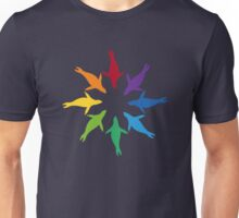 Color: Sea Lion Rainbow Pinwheel Unisex T-Shirt