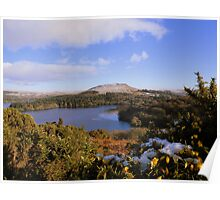 Dartmoor: Looking Over Burrator Reservoir Poster