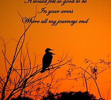 Where My Journeys End by artisandelimage