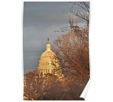 The Capitol, Washington DC Poster